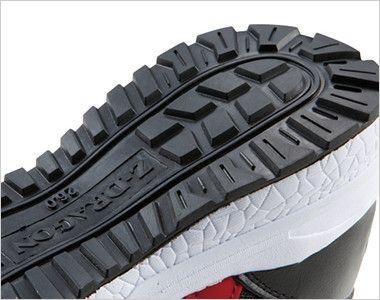 自重堂 S3161 Z-DRAGON 耐滑・軽量のセーフティスニーカー 樹脂先芯 クッション性の高いEVAミッドソール 水や油に強い耐滑ソール