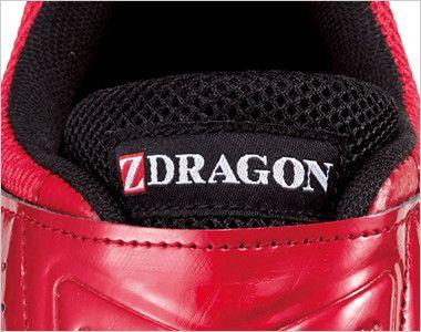 自重堂 S8182 Z-DRAGON 耐滑セーフティシューズ(マジックタイプ) スチール先芯 ブランドネーム