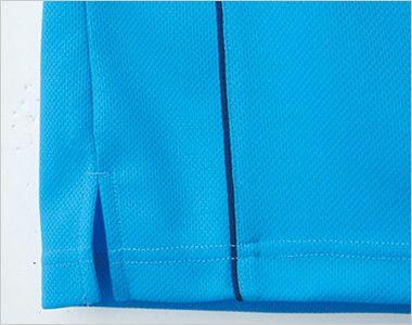自重堂 WH90158 WHISEL ドライ半袖Tシャツ(男女兼用) ラグラン 動きやすいスリット入り