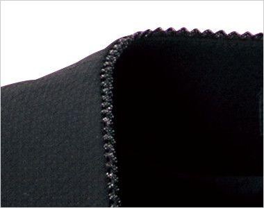 en joie(アンジョア) 11620 [通年]フラップポケットがアクセントの無地ベスト ラメ入りテープで上品な印象に仕上げたスクエアネックの衿元