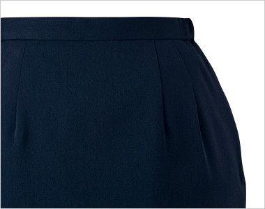 en joie(アンジョア) 51076 [通年]エコでおしゃれなプチプラ脇ゴムスカート 無地 ポケット