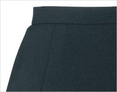 en joie(アンジョア) 51411 [通年]立体感のあるシルエットで快適なティアードスカート 無地 ポケット