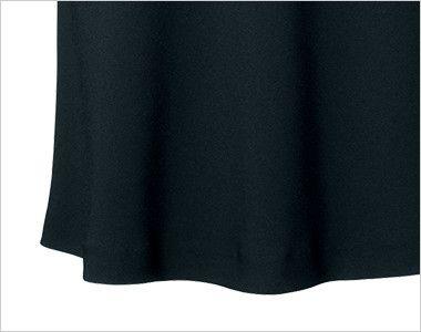 en joie(アンジョア) 51412 [通年]美しいシルエットに快適な着心地のフレアースカート 無地 ドレープ感できれいなシルエット