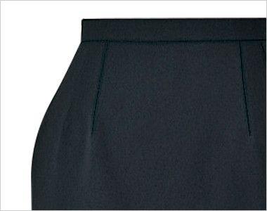 en joie(アンジョア) 56150 [春夏用]清涼感があり定番シルエットのタイトスカート 無地 ポケット
