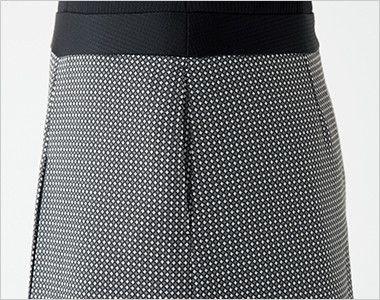en joie(アンジョア) 61510 [通年]ウエストの締め付けがなくストレスフリーのジャンパースカート 無地 スリットポケット