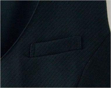 en joie(アンジョア) 66300 [春夏用]涼しい着心地のジャンパースカート 無地 ポケット
