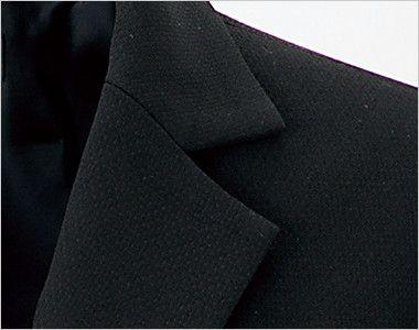 en joie(アンジョア) 81620 すっきりきれいなシルエットのストレッチジャケット 無地 シンプルなデザイン