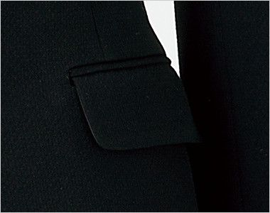en joie(アンジョア) 81620 すっきりきれいなシルエットのストレッチジャケット 無地 すっきりしたデザイン
