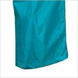 カジメイク 3293 [通年]ディフェンドレインスーツ(男女兼用) パンツの裾幅を調節するスナップボタン付