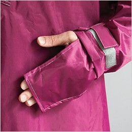 3340 カジメイク ハイポンチョ(男女兼用) 手甲カバー付で袖口のズリ上がりも防ぎます