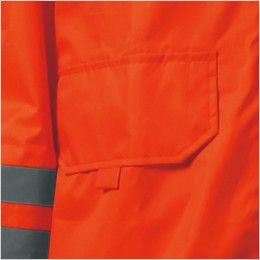カジメイク 3810 [通年]視認性レインスーツ(男女兼用) ポケット付き