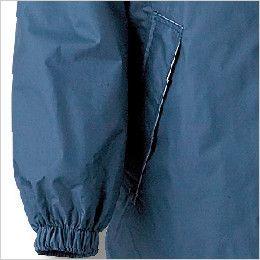 カジメイク 7250 [通年]エントラント(R)使用レインスーツII(男女兼用) 両脇ポケット付、袖口ゴム仕様