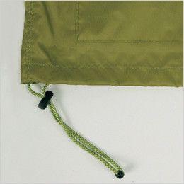 カジメイク 7540 [通年]アドベントレインスーツ(上下セット)(男女兼用) ジャケットの裾幅を調節するストッパー付きドローコード