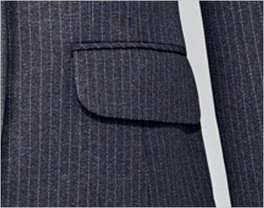 EAJ417 enjoy ジャケット ストライプ ポケット