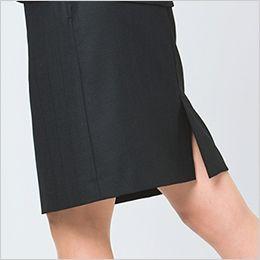 EAS528 enjoy セミタイトスカート チェック
