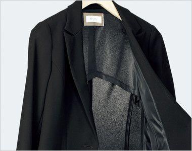 ESJ457 enjoy ジャケット 無地 空気と熱が通る素材&半背裏袖裏なしの夏仕様