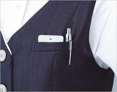 ESV705 enjoy [春夏用]ベスト ツイード 補強仕様ポケット