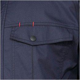 258601SET クロダルマ エアーセンサー 長袖ジャンパー ペン差し付きポケット
