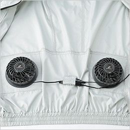 258611 258621 クロダルマ エアーセンサー 長袖ジャンパー ファン内側装着部分 ※ファン・バッテリーセットは別売りです
