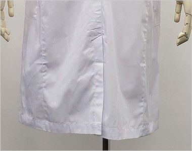 [ネット限定商品]81-491 MONTBLANC メンズ診察衣(ドクターコート) シングル 長袖 シルエットがきれいなセンターベンツ