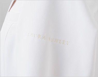 LW101 ローラ アシュレイ 長袖ドクターコート(女性用) ロゴ刺繍入り