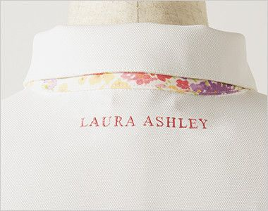 LW201 ローラ アシュレイ 半袖ニットシャツ ポロシャツ(女性用)NLK ロゴ刺繍入り