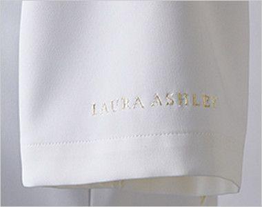 LW411 ローラ アシュレイ 半袖ナースワンピース(女性用) ロゴ刺繍