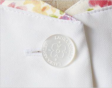 LW801 ローラ アシュレイ 半袖ナースジャケット(女性用) オリジナルボタン