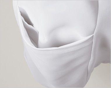 LW801 ローラ アシュレイ 半袖ナースジャケット(女性用) 内ポケット付き