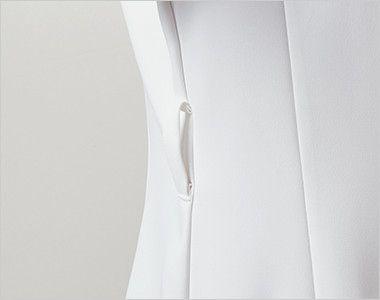 LW803 ローラ アシュレイ 半袖ナースジャケット(女性用) ウエストループ付き