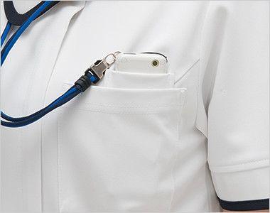 CD2832 ナガイレーベン(nagaileben) キャリアル チュニック(女性用) PHSポケット