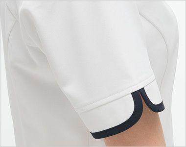 CD2832 ナガイレーベン(nagaileben) キャリアル チュニック(女性用) パイピングがアクセントのすっきりしたデザイン