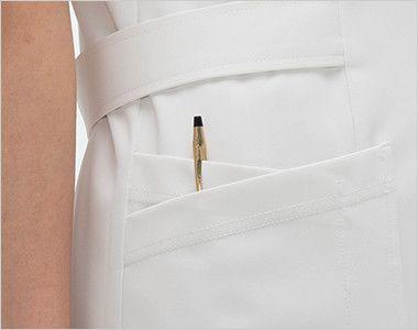 CD2832 ナガイレーベン(nagaileben) キャリアル チュニック(女性用) 収納力が豊富な多機能ポケット