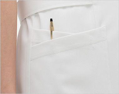 [在庫限り/返品交換不可]CD2837 ナガイレーベン(nagaileben) キャリアル ワンピース(女性用) 収納力が豊富な多機能ポケット