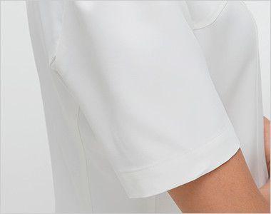 CF4802 ナガイレーベン(nagaileben) クレールローベ チュニック(女性用) 腕を細くみせてくれるすっきりした袖