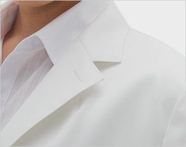 [送料無料]FD4040 ナガイレーベン(nagaileben) シングル診察衣長袖(Y体・細身)(女性用) シンプルなデザイン