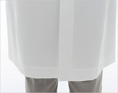 [送料無料]FD4040 ナガイレーベン(nagaileben) シングル診察衣長袖(Y体・細身)(女性用) 座るときにしわになりにくいセンターベンツ