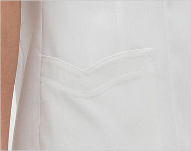 FE4522 ナガイレーベン(nagaileben) フェルネ チュニック(女性用) ハート型のかわいい脇ポケット