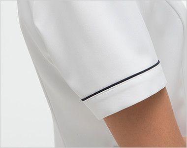 FT4417 ナガイレーベン(nagaileben) フェルネ ワンピース(女性用) 腕を細くみせてくれるスッキリデザイン