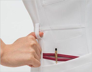 FT4537 ナガイレーベン(nagaileben) フェルネ ワンピース(女性用) ループ・収納が多い多機能ポケット