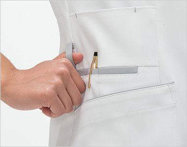 FT4622 ナガイレーベン(nagaileben) フェルネ チュニック(女性用) ループ・収納が多い多機能ポケット