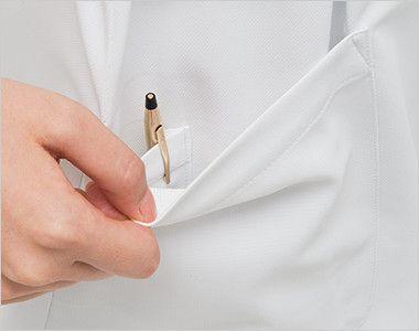 HO1917 ナガイレーベン(nagaileben) ホスパースタット ワンピース(女性用) 二重構造で、内側はペン差しポケット