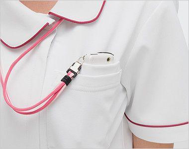 HOS4907 ナガイレーベン(nagaileben) ホスパースタット ワンピース(女性用) PHSポケット