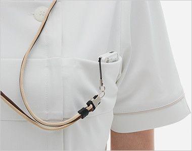 LH6202 ナガイレーベン(nagaileben) ビーズベリー チュニック(女性用) PHSポケット