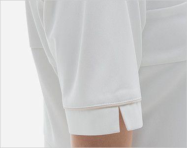 LH6207 ナガイレーベン(nagaileben) ビーズベリー 半袖ワンピース(女性用) 腕を細くみせてくれるスッキリした袖