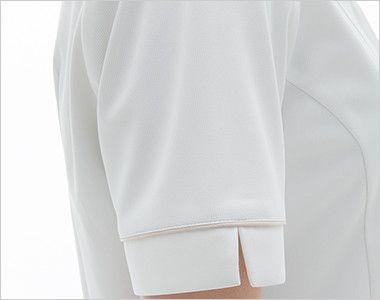 LH6212 ナガイレーベン(nagaileben) ビーズベリー ナースジャケット(女性用) 腕を細くみせてくれるスッキリした袖
