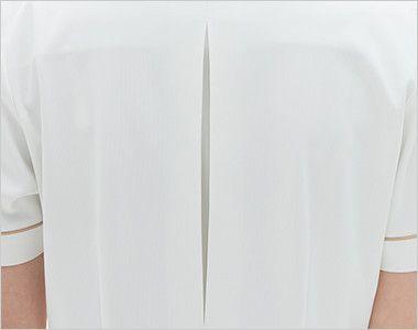 LH6277 ナガイレーベン(nagaileben) ビーズベリー 半袖ワンピース(女性用) ボックスプリーツ