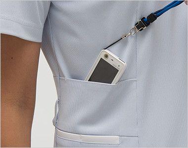 LX4012 ナガイレーベン(nagaileben) エルエックス チュニック(女性用) PHSポケット