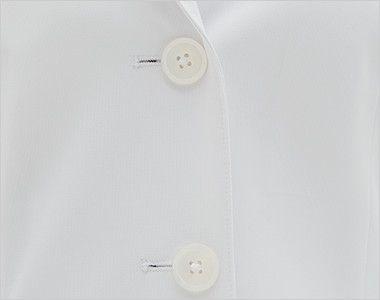 SD3040 ナガイレーベン(nagaileben) シングル診察衣長袖(女性用) 前ボタン
