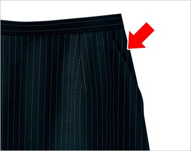 SELERY(セロリー) S-16401 [通年]Aラインスカート [ストライプ]